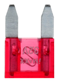 MINI FUSE ZEKERING 10MM 10A RED