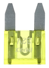 MINI FUSE ZEKERING 10MM 20A YELLOW