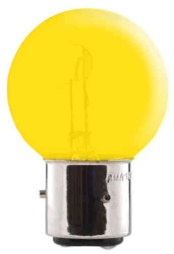 BA21d 45/40W 6V GEEL YELLOW LAMP BULB