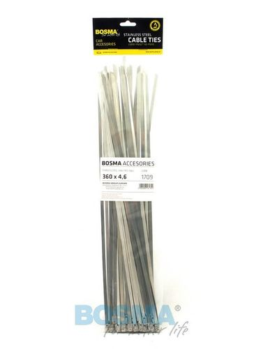 4.6X360 CABLE TIES STAINLESS STEEL