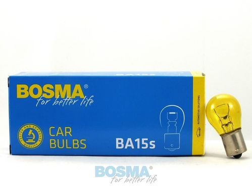 BA15S 35W 12V 121035G YELLOW BULB LAMP