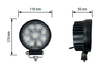 12/24V WORKINGLAMP 9XLED 27W