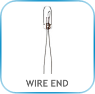 WIRE END